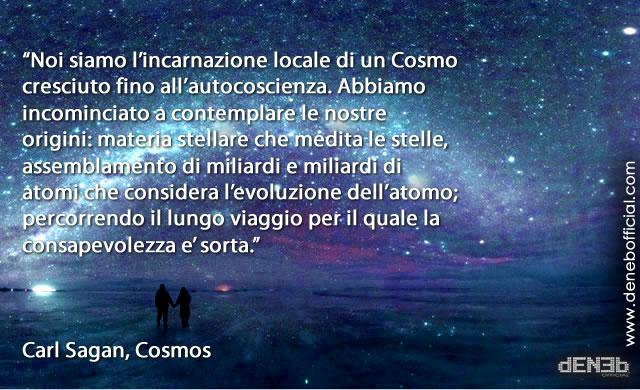 Cosmos: Siamo Materia Stellare che Medita sulle Stelle - We are Starstuff Pondering the Stars
