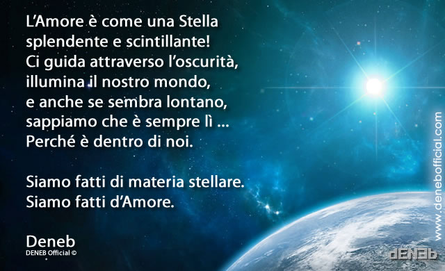 L'Amore è come una Stella... Love is like a Star...