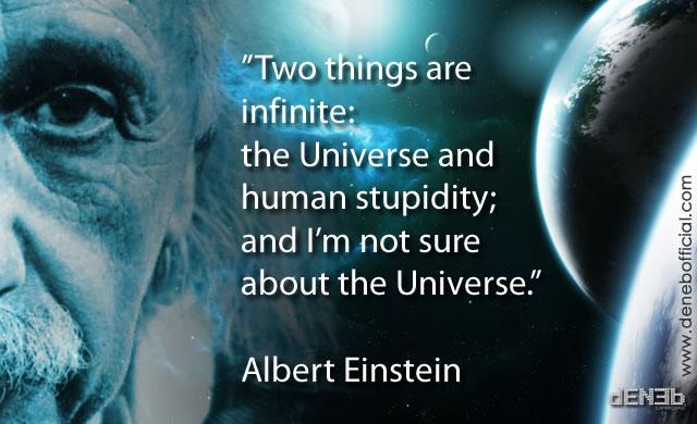 Albert Einstein: Gli Umani e l'Universo - Humans and the Universe