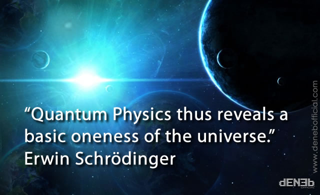 Quantum physics thus reveals a basic one by Erwin ... Quantum Physics Images
