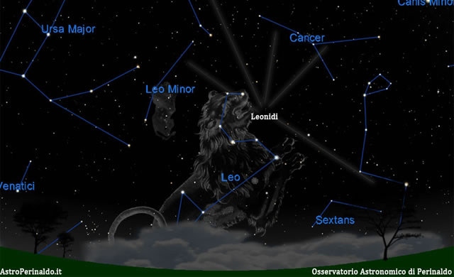 Leonidi 2011: 17-18 Novembre le stelle cadenti autunnali