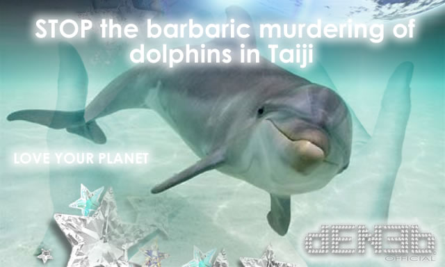STOP the barbaric murdering of #dolphins in #taiji