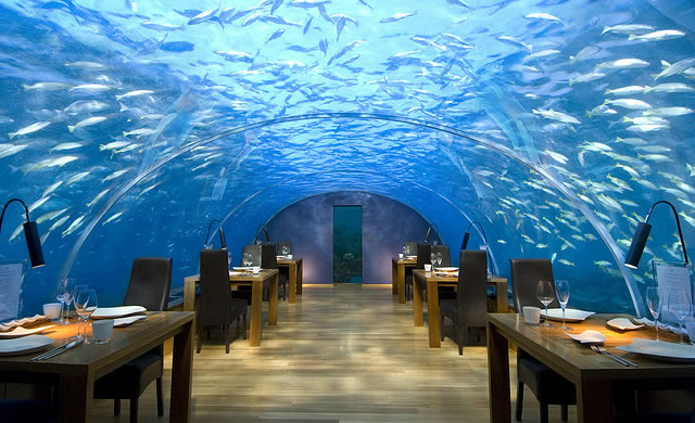Incredible Underwater Resort