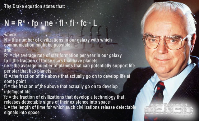 The Drake Equation - L'Equazione di Frank Drake