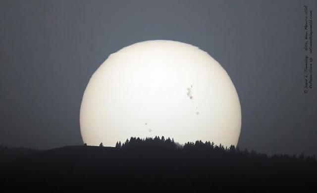 Sunspot 1429 Not Done Yet - Releases M6.3 Flare - Lo spot solare 1429 non ha ancora finito: un altro flare, M6.3, in arrivo