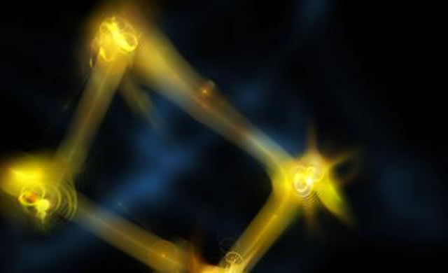 Quantum physics mimics spooky action into the past