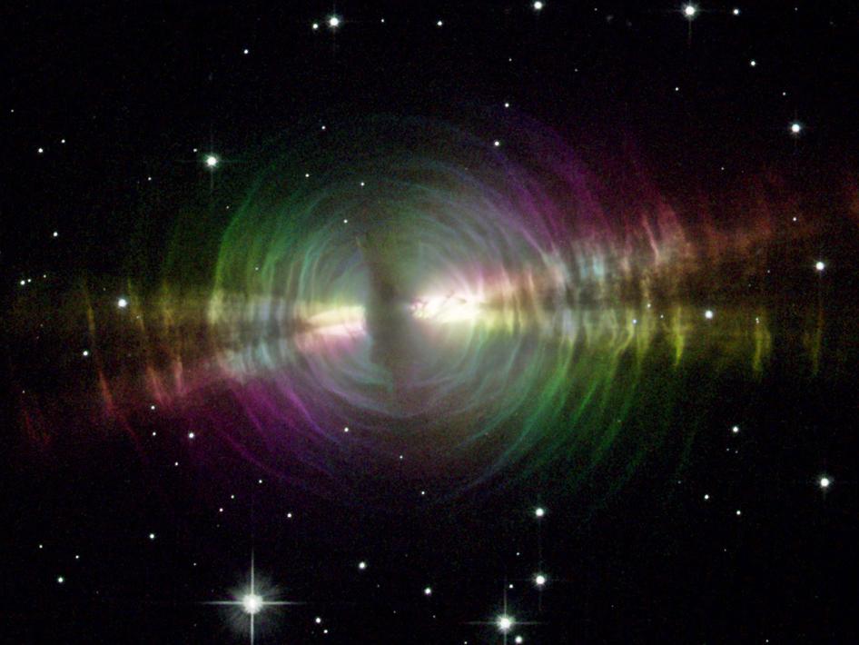 Cygnus: The Egg Nebula - Costellazione del Cigno: Egg, nebulosa protoplanetaria