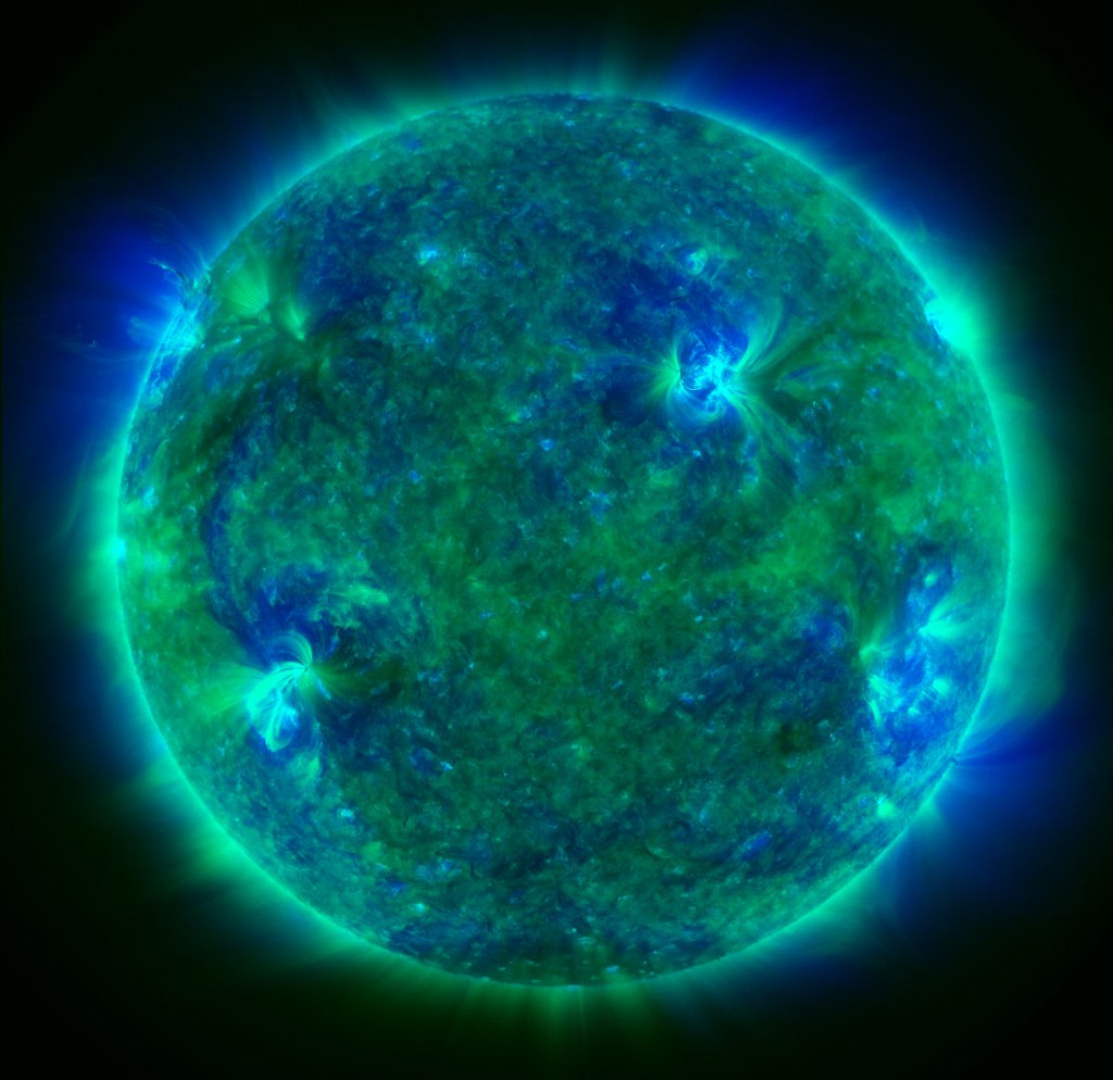 SDO: The Emerald Sun - Il Sole smeraldo