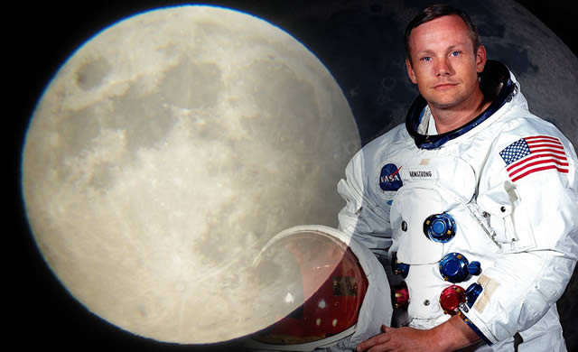 Neil Alden Armstrong: the first person to walk on the Moon - Il primo uomo che ha camminato sulla Luna