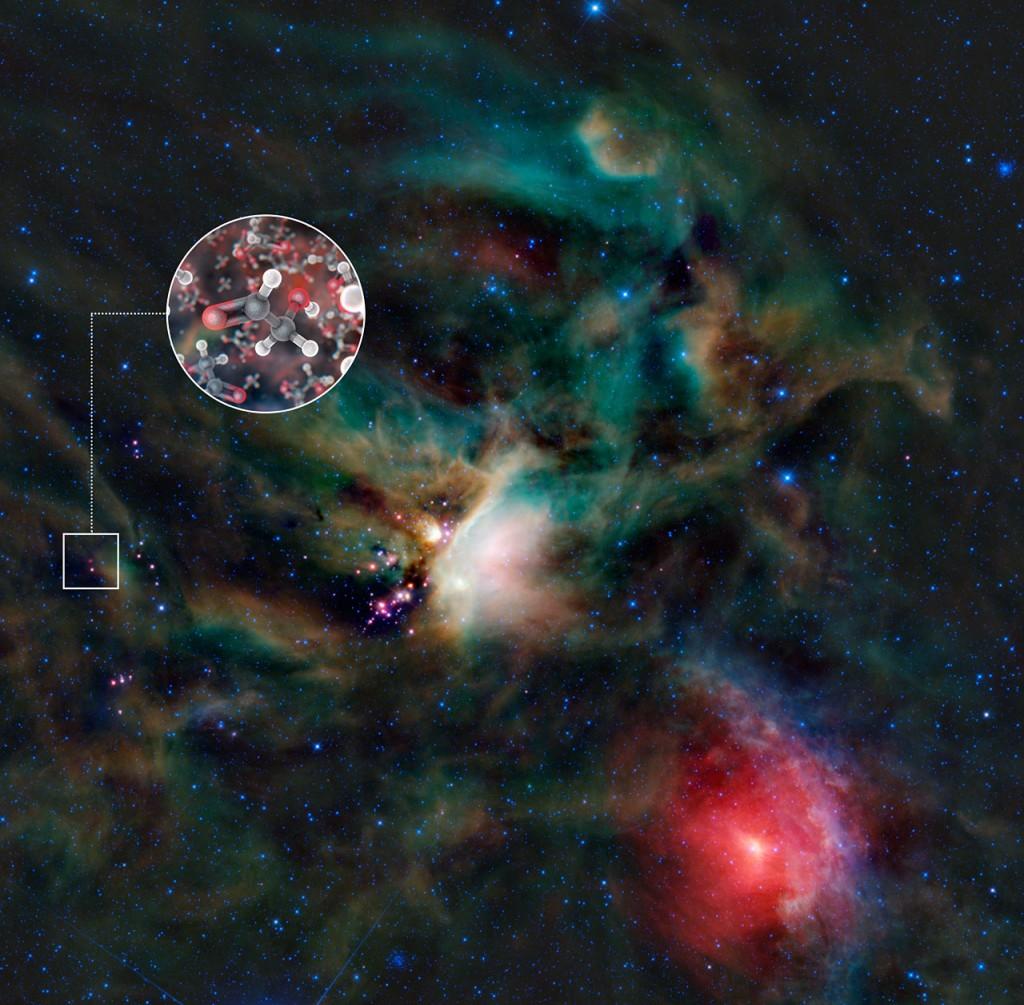 ALMA: Building blocks of life found around young star - Trovati alcuni elementi costitutivi della vita vicino a una stella giovane