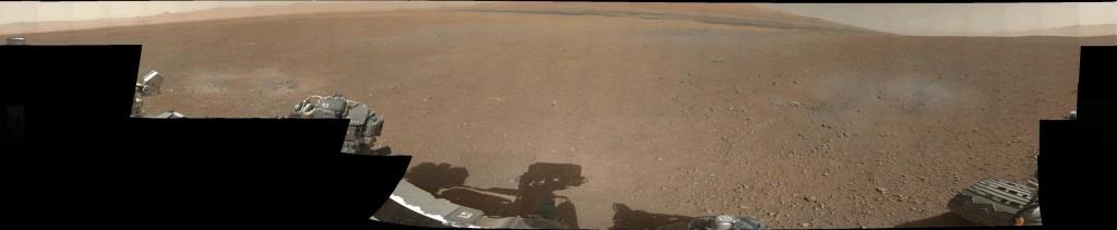 The First Color Panorama from #Mars by #Curiosity - Il primo scatto del panorama marziano a colori fatto da Curiosity