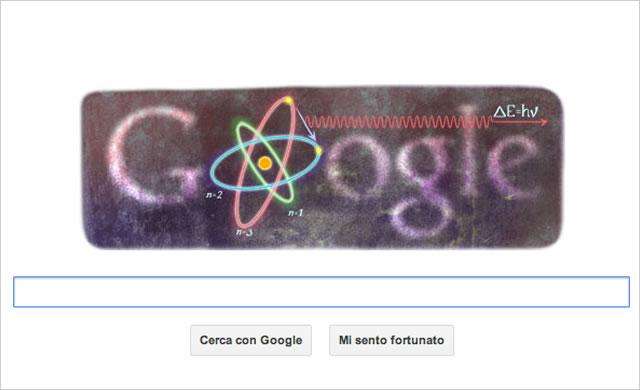 Google Doodle: Niels Bohr