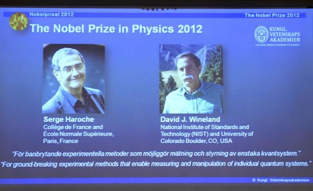 Nobel, quantistica: Wineland e Haroche battono Higgs - Why the Higgs Boson Didn't Win This Year's Nobel