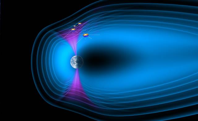 Studio NASA: il vento solare può attraversare la regione più esterna della magnetosfera - NASA Study Using Cluster Reveals New Insights Into Solar Wind