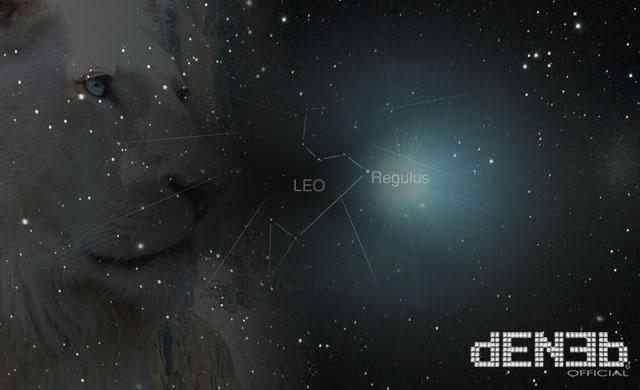 Stelle cadenti dalla Costellazione del Leone - Leonid Meteor Shower 2012 Sky Map