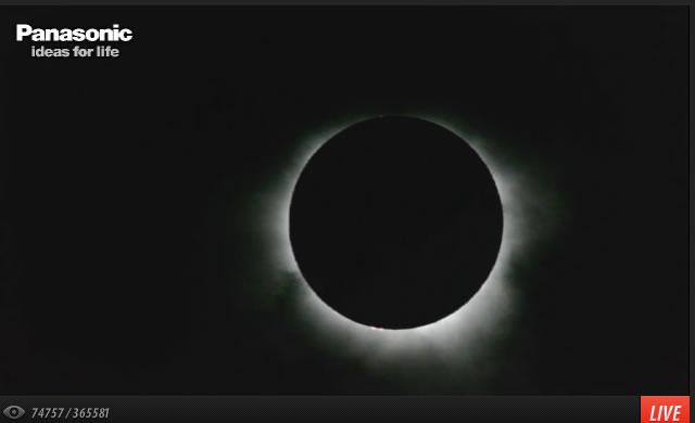 Total eclipse of the Sun - Eclissi totale di Sole