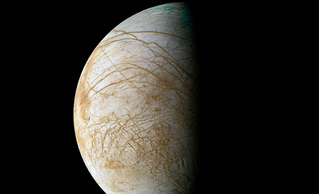 NASA: Su Europa, luna di Giove, forse possibile la vita - NASA Eyes Mission to Jupiter Moon Europa