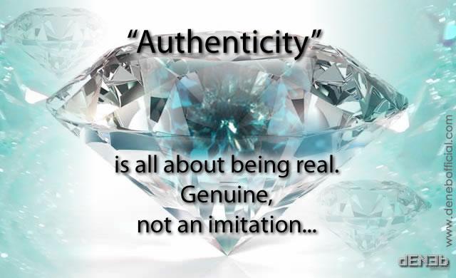 Autenticità - Authenticity