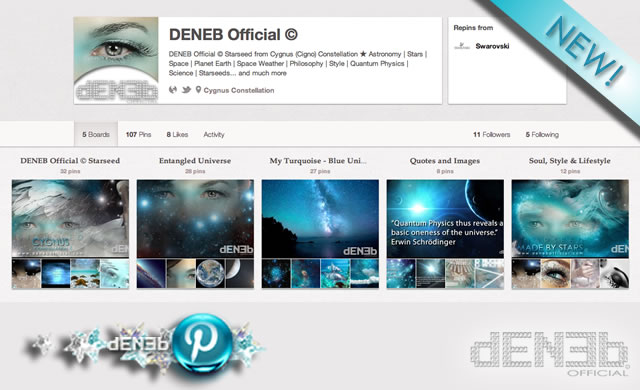 DENEB Official © on Pinterest