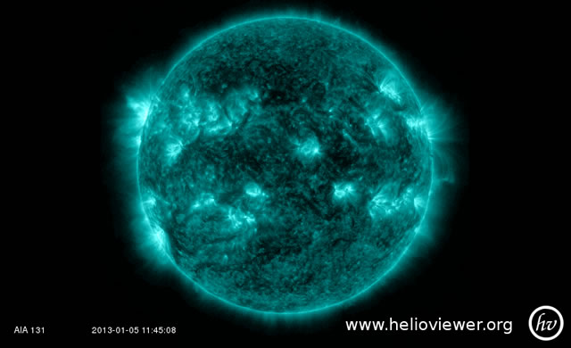 Incremento dell'attività solare: brillamento di classe M1 - Space Weather - X-ray Solar Flares: M1