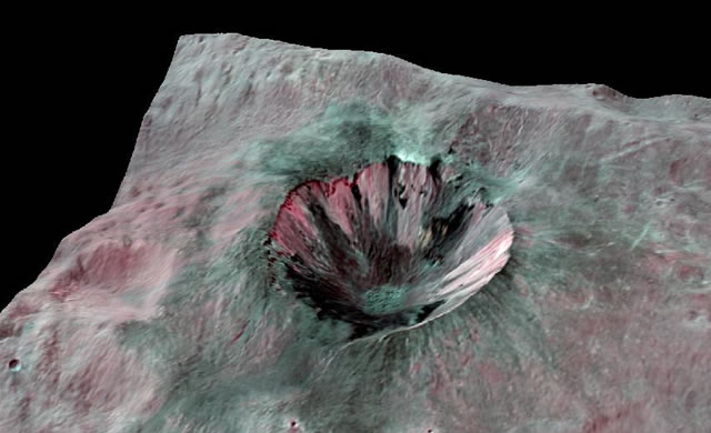 Protopianeta Vesta: presenza di carbonio e antichi impatti - Ancient Impacts Stained Vesta with Carbon-Rich Material