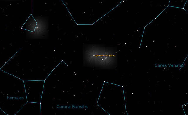 "Quadrantidi: le prime ""stelle cadenti"" del 2013 - First Meteor Shower of 2013 Peaks This Week"