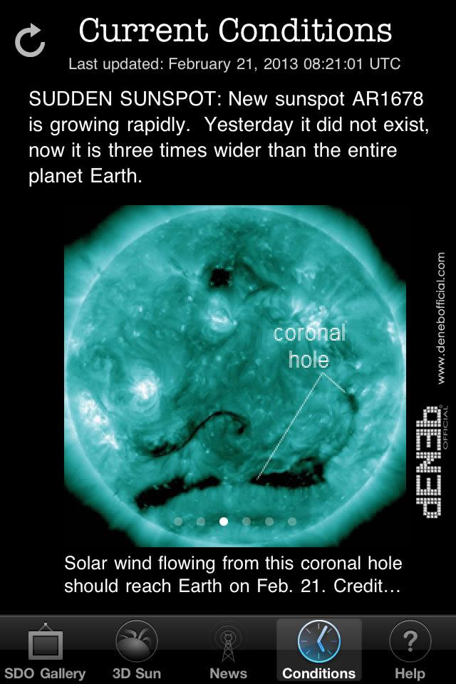 Probabilità di flares solari: sotto osservazione la regione AR1678 - Chance of flares: focus on Sunspot AR1678
