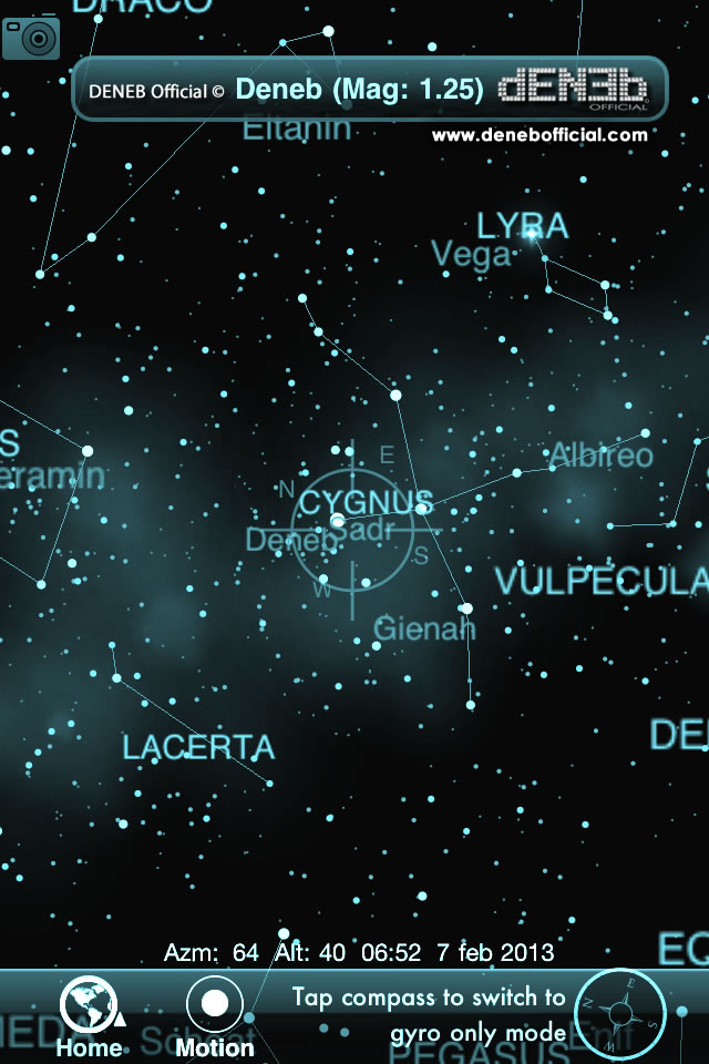 Deneb Alpha Cygni: Il mio personale buongiorno a te - Deneb Alpha Cygni: My personal good morning to you