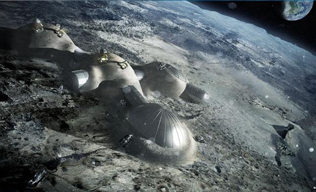 ESA testa la stampa in 3D per costruire una base lunare con l'aiuto di tecnologia italiana - ESA: Building a Luna Base with 3D printing