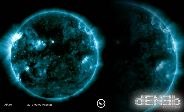 Dal Sole una forte emissione di onde radio di tipologia III - Type III strong solar radio emissions