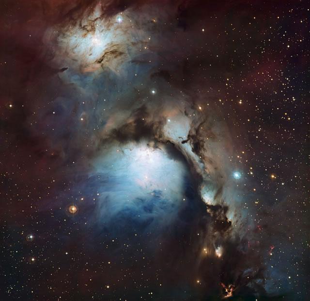 Messier 78: il riflesso della nebulosa in Orione - Messier 78: a reflection nebula in Orion