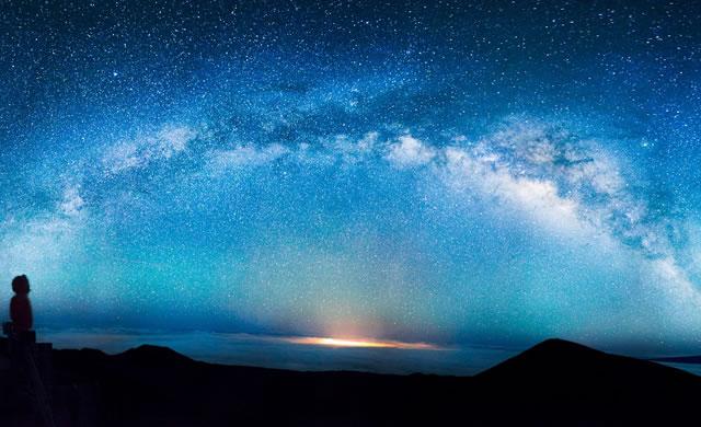 Dal SETI: Immagine mozzafiato della Via Lattea - SETI: Stunning picture - Milky Way by Andrew Hara