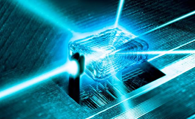Un'idea al diamante per il computer quantistico - Diamond idea for quantum computer
