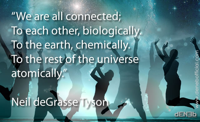 Neil deGrasse Tyson - Siamo tutti connessi - We're all connected