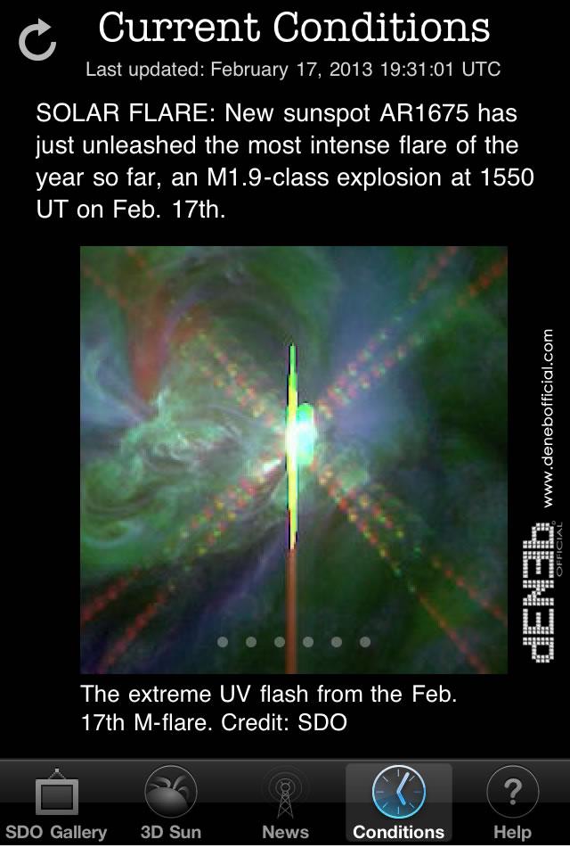 Attività solare: AR1675, Solar Flare di classe M1.9 - Space Weather: AR1675 ,M-Class Solar Flare