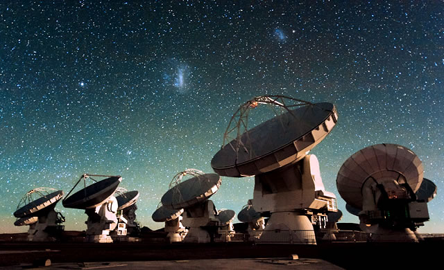 ESO: Live Streaming dell'inaugurazione di ALMA - Live Streaming of ALMA Inauguration