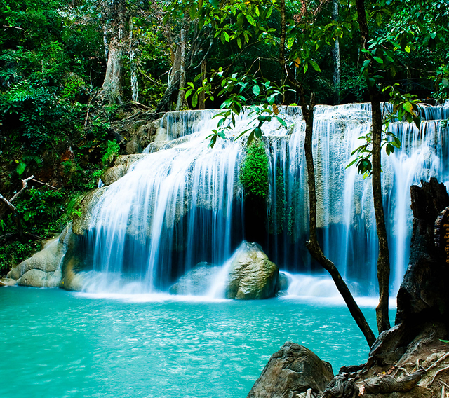 La Bellezza del Pianeta Terra - The Beauty of Planet Earth: Erawan National Park - (Thailand)