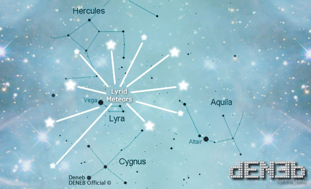 Stelle Cadenti d'Aprile: le Liridi - The Lyrid Meteor Shower