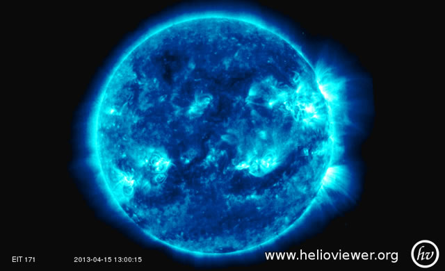 Attività Solare: Emissioni Radio di Tipologia IV e Brillamento di Classe M1 - Space Weather: Type IV Radio Emission and M1 Class Solar Flare