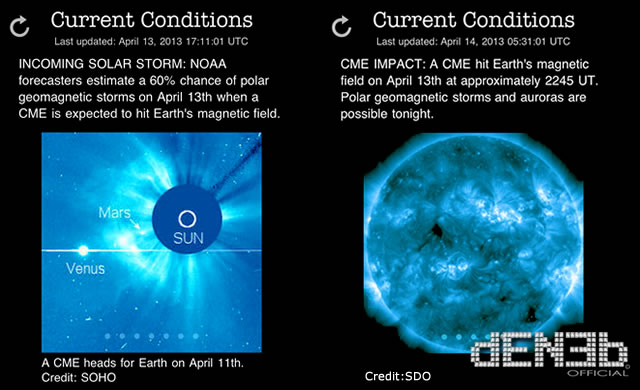 Attività Solare: Tempesta Geomagnetica in arrivo - Space Weather: Geomagnetic Storm Underway