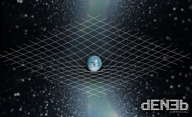 Spazio Tempo Curvatura - Illustration of spacetime curvature