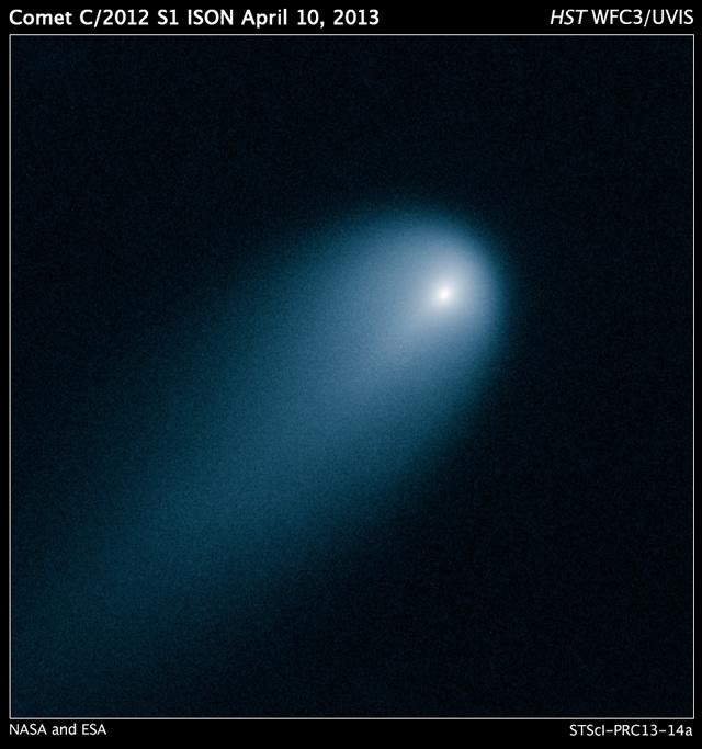 Il Telescopio Spaziale Hubble cattura la Cometa ISON - Hubble Captures Comet ISON