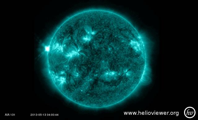 Attività Solare: Solar Flare Classe X - Space Weather: X-Class Solar Flare