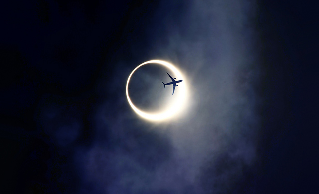 10 Maggio 2013: Eclissi Solare Anulare - Annular Solar Eclipse of 2013 May 10