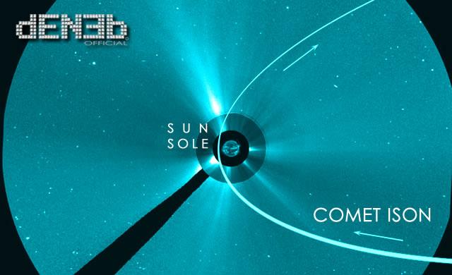 Evento 2013: In Novembre l'arrivo della Cometa ISON - Coming up: Comet ISON in November 2013