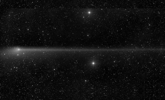 Cometa PanSTARRS - Comet PanSTARRS Anti Tail Grows