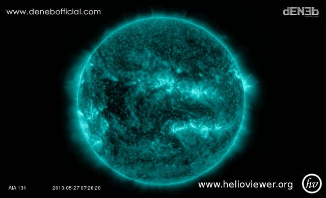 Attività Solare: Vento Solare e Tempesta di Elettroni - Space Weather: Solar Wind and Electron Storm