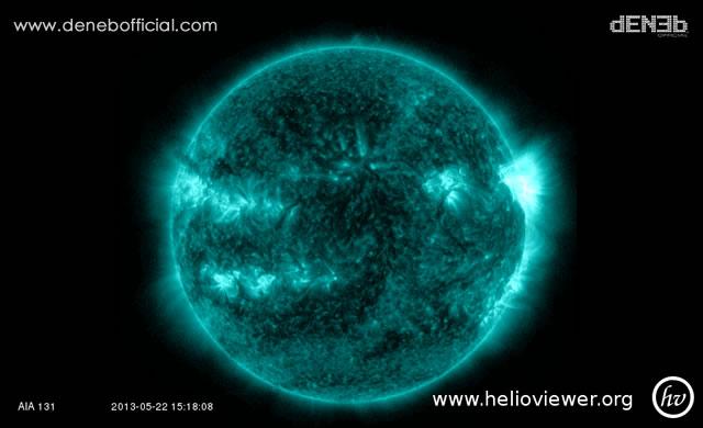Attività Solare: Tempesta Solare di Radiazioni e Solar Flare M2.38 - Space Weather: Solar Radiation Storm and Solar Flare M2.38