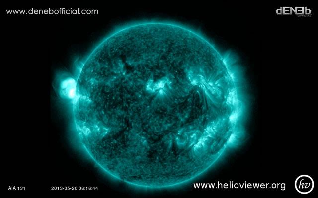 Attività Solare: Nuovo Solar Flare Classe M1.77 - Space Weather: Solar Flare M1.77-Class