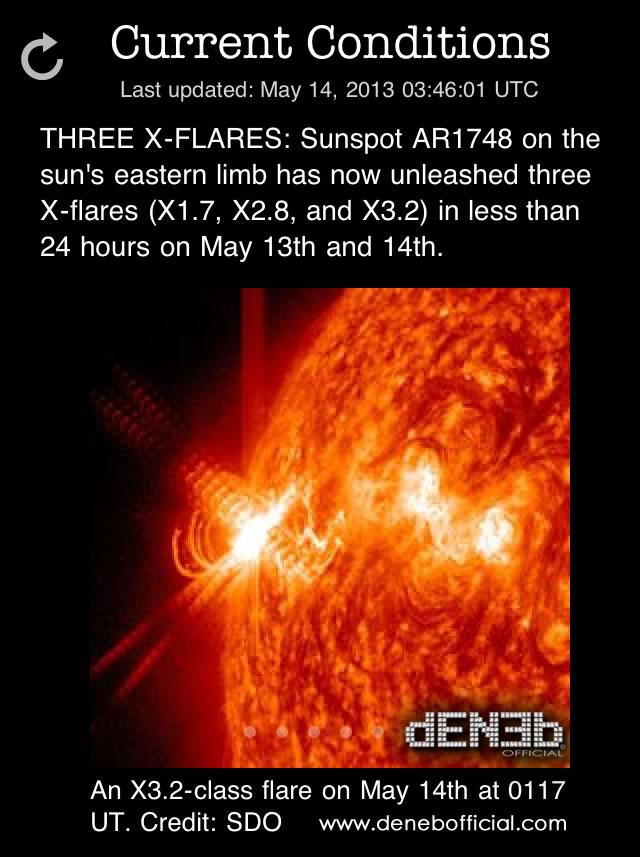 Attività Solare: Tre Solar Flares di Classe X in meno di 24 Ore - Space Weather: Three X-Flares in less than 24 Hours